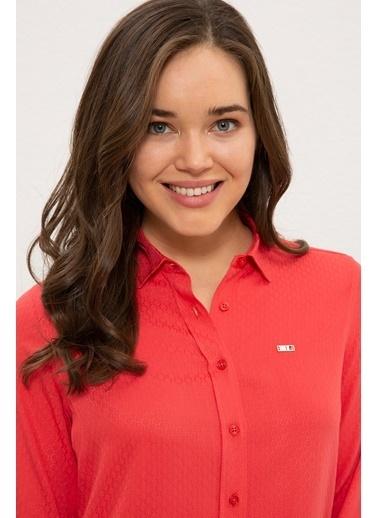 U.S. Polo Assn. Gömlek Kırmızı